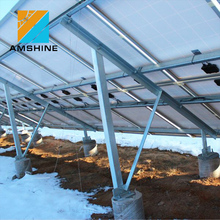 ground solar mounting photovoltaic racking