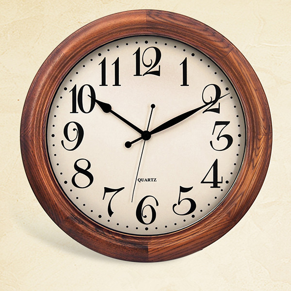 High Quality Luxury Models Vintage Wall Clock with Wood Framed