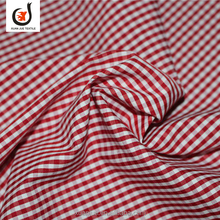 Hot sale TC 58*42 155*85 stripe men's shirt fabric