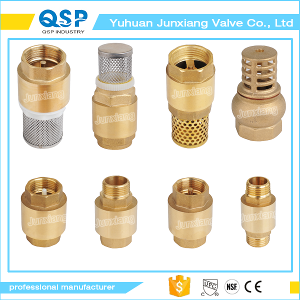 "1/2"" good quality top brass water nozzle check valve"