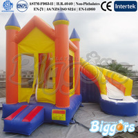 Inflatable Bouncy Castle With Water Slide Jumping Castles Inflatable Water Slide