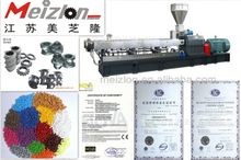 Eco-friendly Plastic Recycling Machinery/Plastic Pellet Twin Screw Extruder