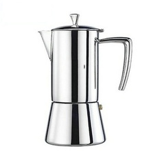 2017 high quality 6 cup Aluminium Coffee Pot/ Espresso Coffee Maker/ Moka Pot