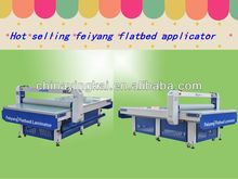 Competitive price glue roller applicator ,hot flatbed laminator FY1325