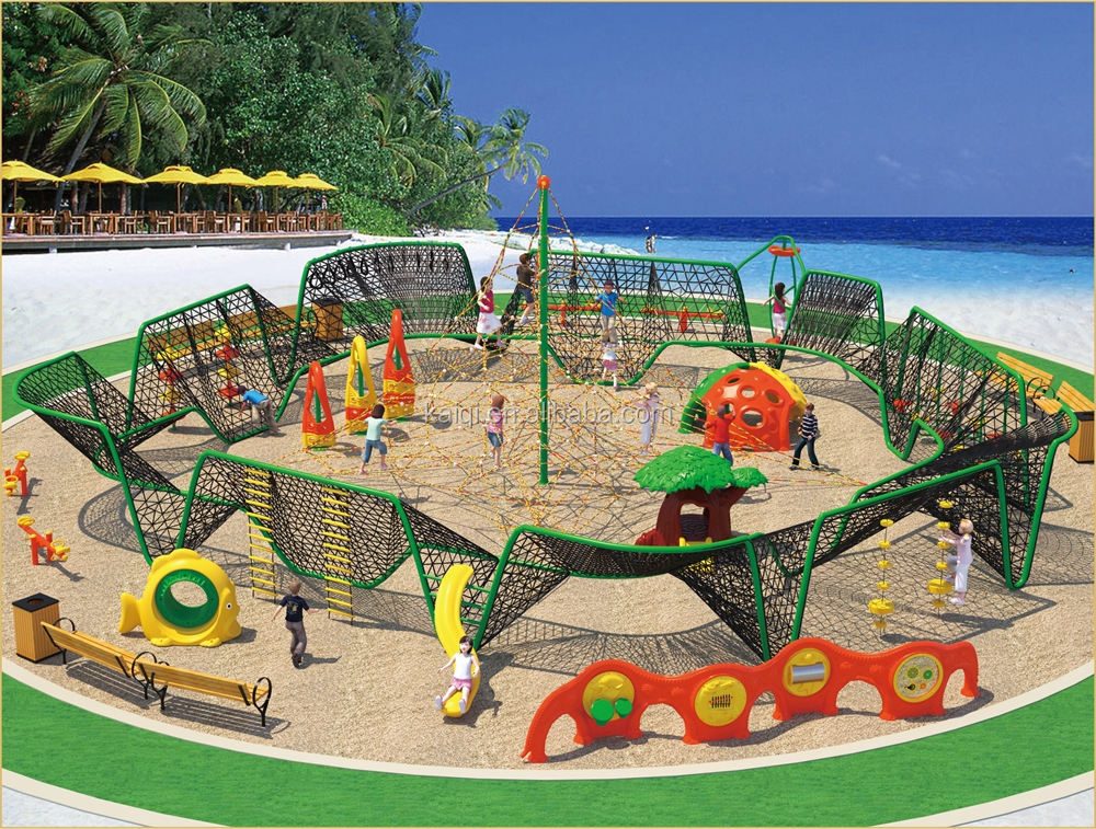 Best Selling Kaiqi Outdoor Playground Equipment KQ50104A