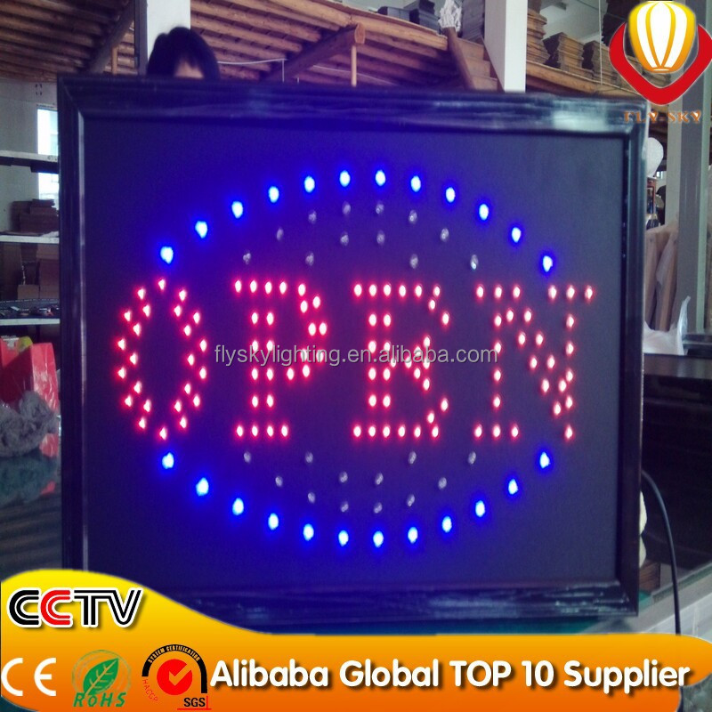 alibaba innovative products portable led sign board customized size allowed