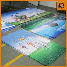 cartoon banner and flex raw material shenzhen suppliers double sides pvc flex banner