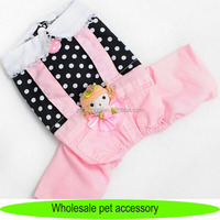 Cats accessories, two colors dog overalls, cheap cat panties