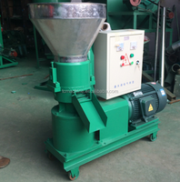 flat die rice bran feed pellet mill,mini feed pellet machine,rice powder pellet machine