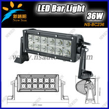 "2013 Hottest Super bright IP67 automotive led light bar auto led bar lights 36W 7.5"" c ree led light led bulb"