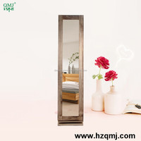 jewelry armoire with mirror Bedroom cabinet
