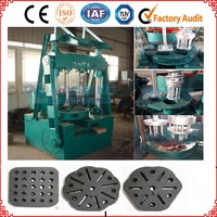 long-burning time hard wood charcoal/ long life, honeycomb coal briquette press machine