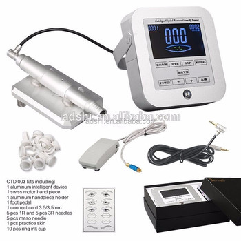 Permanent makeup cosmetic tattoo machine microblade eyebrow machine