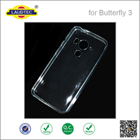2015 New arrival!glossy TPU gel case for HTC J Butterfly 3 HTV31