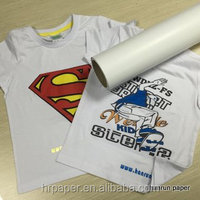 light eco solvent ink transfer paper for cotton,poly,and blends fabric