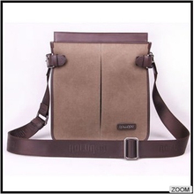 China factory good quality canvas men bags handbags leather