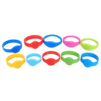 500pcs 125KHz RFID Wristbands Color Size Style are Optional OEM Wholesale