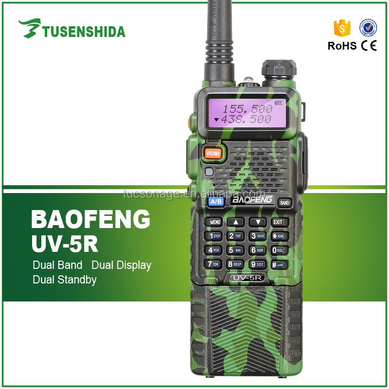 5w dual band military walkie talkie for army BAOFENG portable radios