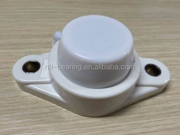 SUCFL206 stainless steel pillow block bearing with plastic housing with shield cap