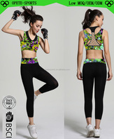 China yoga factory direct woman sports training gymnasium wear comfortable organic yoga clothing