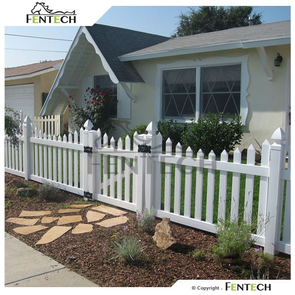 Water Proof Plastic Outdoor Fence Decoration , Cheap Fence