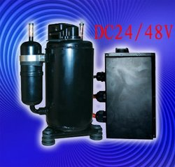 48v telecom aircon compressor for Telephone Exchanges and mobile telecom tower cabins