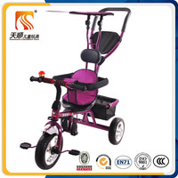 china three wheel tricycle metal child tricycle kid tricycle with roof
