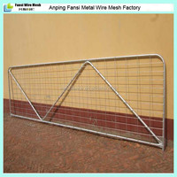cost effective 12ft heavy duty weld mesh farm rural gates for deers/Ostrich/Emu (China supplier 2015)