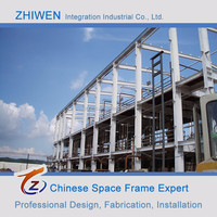 Low Cost Prefabricated Light Steel Structure