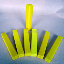 Square manufactory plastic telescopic tube packing