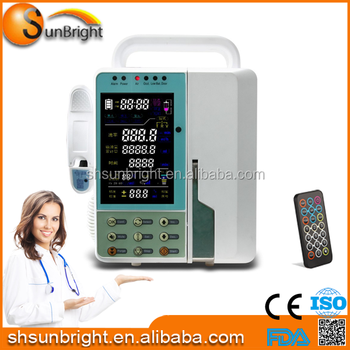 CE approved high quality large screen Infusion Pump price/syring pump price/injection pump price