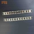 Wholesale silver crystal rhinestone bikini connector buckle sew on for Bikini