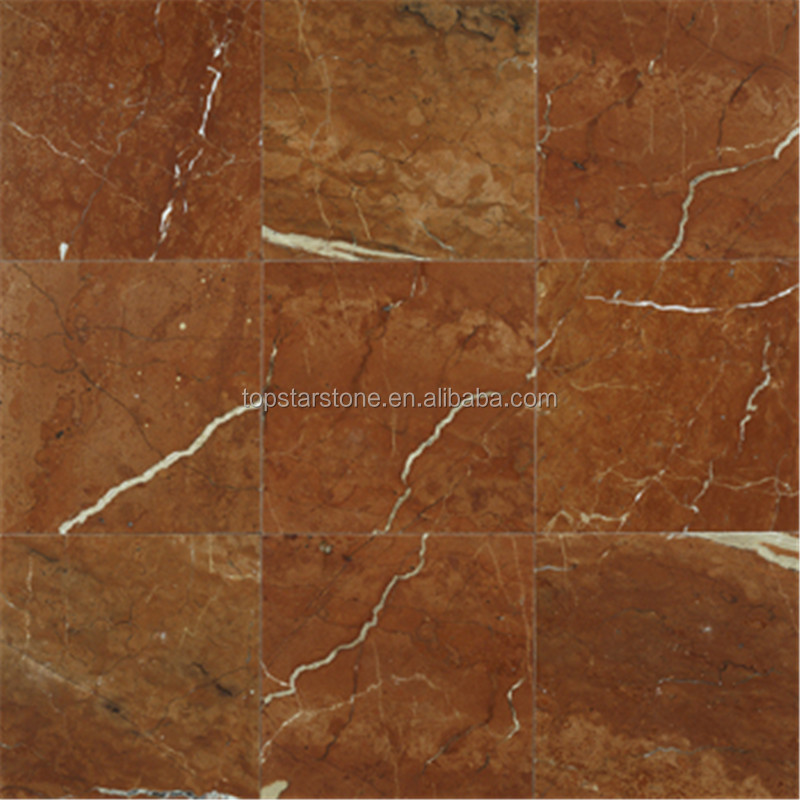 TOPSTAR Rosso Alicante Marble Tile
