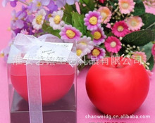 cheapest candle paraffin wax candle apple candle
