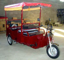 three wheel motorcycle with steering wheel/ape piaggio tuk tuk three wheeler/e-rickshaw india