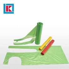 Thick plastic medical printed disposable polythene apron