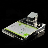 clear acrylic cellphone Display Stand high quality mobile phone acrylic holder