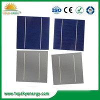 2BB poly solar cell 156x156 cheap photovoltaic cells made in Taiwan