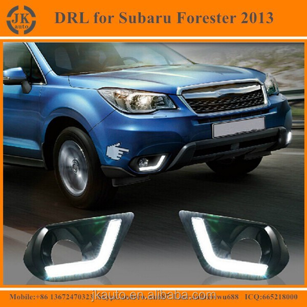 Best Selling LED DRL Fog Light Excellent Quality LED Daylight for Subaru Forester 2013