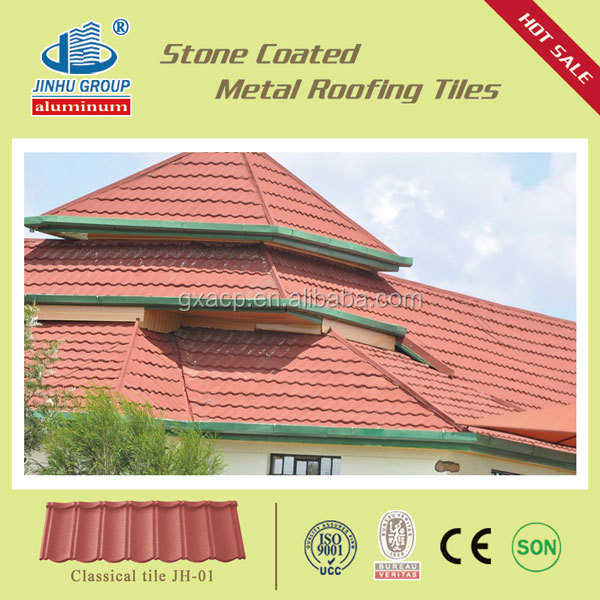Metro roof tile composite tile roof, aluminum shingles, shingle roof tiles
