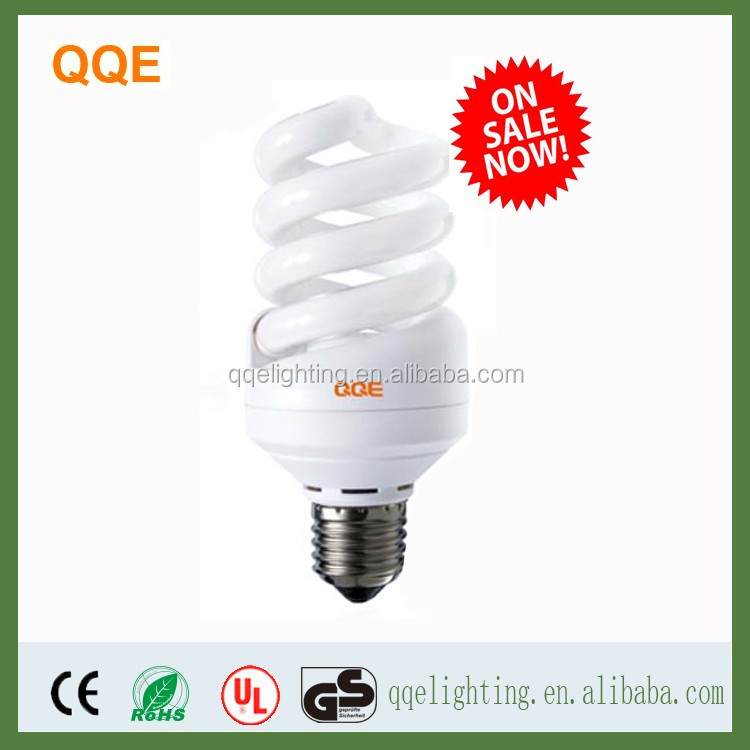 2017 high quality cfl bulb lamp spiral energy savingled light bulb 11W E27 base