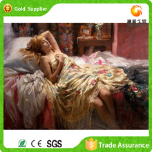 Wholesale Sex Girl Image Crystal Diamond Abstract People Art Painting