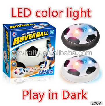 Indoor Sports Parent-Child Fitness LED Flashing Hover Ball for boys