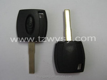 factory wholesale uncut car transponder key blank for Ford key