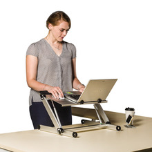portable folding ergonomic design laptop table