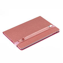 wholesale embossing Leather tablet case for iPad Air 2/iPad 6 with stand