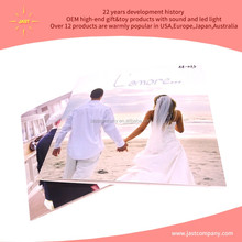 Latest top quality music arabic blank wedding invitation cards design with europe patent made in china