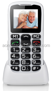 Low price latest big button China mobile phone hot sale for elder