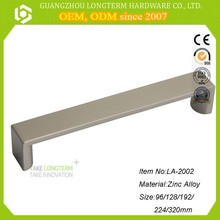 furniture hardware Zinc alloy Long Die Casting pull handles for cupboards