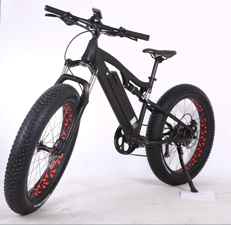 26 Inch Aluminum Alloy 48V500W Rear Motor Full Suspension Electric Fat <strong>Bike</strong> Unfoldable Electric <strong>Bike</strong> Snow <strong>Bike</strong>
